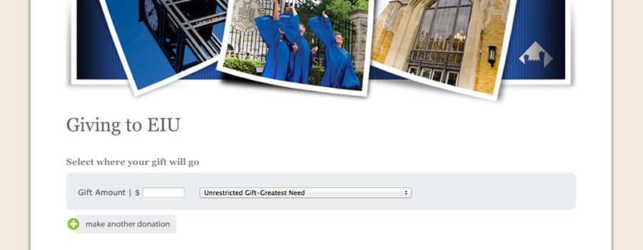 EIU Online Giving